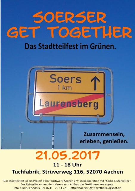 Flyer - Stadtteilfest 2017